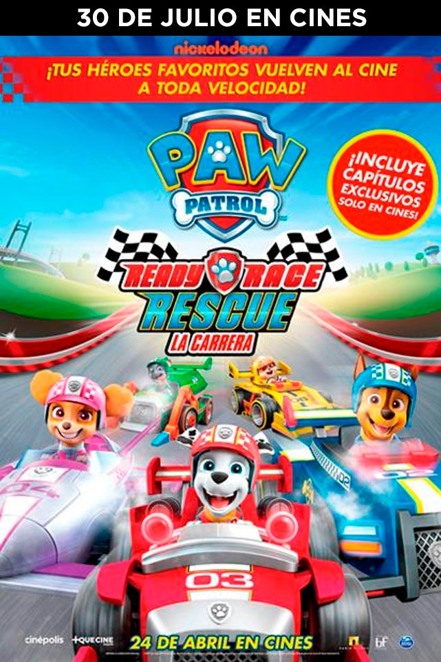 PAW PATROL. READY, RACE, RESCUE: LA CARRERA